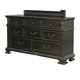 Samuel Lawrence Monarch 8 Drawer Dresser in Rich Brown 8794-010