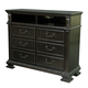 Samuel Lawrence Monarch Media Chest in Rich Brown 8794-160