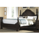 Samuel Lawrence Monarch King Panel Bed in Rich Brown 8794-270K CLEARANCE