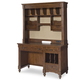 Legacy Classic Kids Big Sur Desk with Hutch in Saddle Brown 4920-6100-6200
