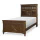 Legacy Classic Kids Big Sur Twin Vista Point Bookcase Bed in Saddle Brown 4920-4803T
