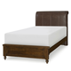 Legacy Classic Kids Big Sur Twin Monterey Upholstered Platform Bed in Saddle Brown 4920-4833T