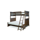 Legacy Classic Kids Big Sur Twin Over Full Bixby Bunk Bed in Saddle Brown 4920-8140F