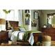 Legacy Classic Kids Big Sur 4 Piece Highland Panel Bedroom Set in Saddle Brown