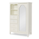 Legacy Classic Kids Harmony Mirrored Door Chest in Antique Linen White 4910-2400 PROMO