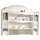 Legacy Classic Kids Harmony Bookcase/ Hutch in Antique Linen White 4910-7201 PROMO