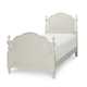 Legacy Classic Kids Harmony Twin Summerset Low Poster Bed in Antique Linen White 4910-4103T