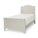 Legacy Classic Kids Harmony Twin Chelsea Sleigh Bed in Antique Linen White 4910-4303T