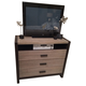 Legacy Classic Helix Media Chest in Charcoal and Stone 4660-2800