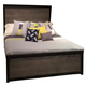 Legacy Classic Helix Queen Panel Bed in Charcoal and Stone 4660-4105Q