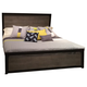 Legacy Classic Helix King Panel Bed in Charcoal and Stone 4660-4106K