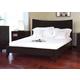 J&M Domain Queen Platform Bed in Java 17517-Q