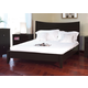 J&M Domain King Platform Bed in Java 17517-K