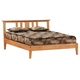 J&M Tilbury Twin Platform Bed in Teak 17522