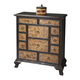 Butler Specialty Connoisseur's Twelve Drawer Chest in Ebony/Smoked Maple 1149090
