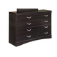 Zanbury Contemporary Dresser in Merlot B217-31