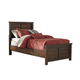 Ladiville Vintage Twin Panel Bed in Rustic Brown