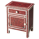 Butler Specialty Heritage Chairside Chest in Red 1879070