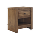 Birnalla Contemporary 1-Drawer Nightstand in Light Brown B595-91