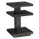 Lexington Furniture Carrera Ascari Night Table in Carbon Gray 911-623
