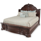 Samuel Lawrence Furniture Edington Queen Sleigh Bed in European Cherry 8328-252