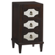 Lexington Furniture Kensington Place Lucerne Mirrored Nightstand in Brentwood 708-623