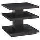 Lexington Furniture Carrera Ellena Square End Table in Carbon Gray 911-953