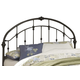 Ashley Queen Slatted Metal Bed Headboard Only in Bronze B280-153