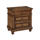 ACME Arielle Three Drawer Nightstand in Rich Oak 24443