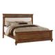 ACME Arielle Queen Panel Bed in Rich Oak  24440Q