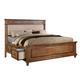 ACME Arielle King Panel Bed w/ Storage in Rich Oak 24457EK