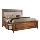 ACME Arielle California King Panel Bed w/ Storage in Rich Oak 24454CK PROMO