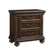 Tommy Bahama Kilimanjaro Newland Nightstand in Chestnut Brown 552-621