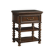 Tommy Bahama Kilimanjaro Christiana Nightstand in Chestnut Brown 552-622