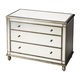 Butler Specialty Masterpiece Console Chest in Mirror Finish 1122146