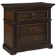 Hekman Canyon Retreat Three Drawer Night Stand in Canyon Retreat 941804CY