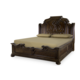 Legacy Classic La Bella Vita California King Sleigh Bed in Coffee House Brown 4200-4307K