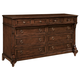Hekman Charlestone Place Eight Drawer Dresser 941701CP