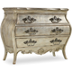 Hooker Furniture Sanctuary 3-Drawer Bachelors Chest in Silver 5413-90017