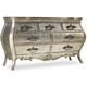 Hooker Furniture Sanctuary 7-Drawer Dresser in Silver 5413-90002
