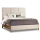 Hooker Furniture Studio 7H Aon Queen Upholstered Panel Bed in Walnut 5398-90250