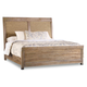 Hooker Furniture Studio 7H Noble King Rope Panel Bed in Walnut 5382-90266