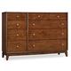 Hooker Furniture Studio 7H Sans Serif Dresser in Walnut 5398-90002