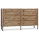 Hooker Furniture Studio 7H Annika Dresser in Walnut 5382-90002