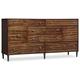 Hooker Furniture Studio 7H Quant Drawer Dresser in Walnut 5388-90002