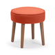 Zuo Modern Pure Britton Stool in Orange 13002