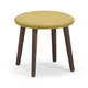 Zuo Modern Pure Edgewater Stool in Mustard 13003