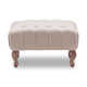 Zuo Modern Pure Bellevue Stool in Beige 13013