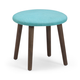 Zuo Modern Pure Edgewater Stool in Aqua 13004