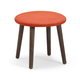 Zuo Modern Pure Edgewater Stool in Orange 13005